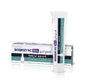 basiron 5procent lokalbehandling av akne
