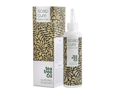 tea tree oil spray i hårbotten mot akne