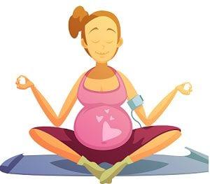 gravid och stillasittande kan ge finnar